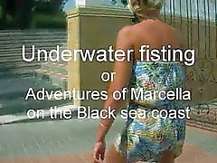 Underwater fisting