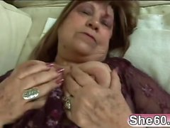 Hot Granny Gets Fucked Hard By A Young Man