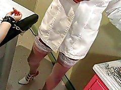 Fetiche hospitalar sessão médico tortura