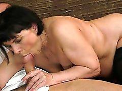 Horny housewife amazing orgasm