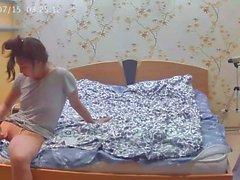 Nena cámara captó el recorte de su coño