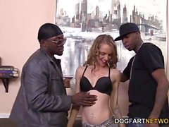 Beckie Lynn Debuts On Cam With A GangBang