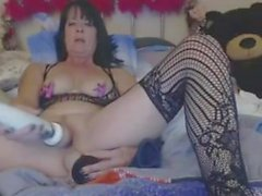 Kinky Granny Anal And Pussy Itsetyydytys