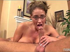 Di Eva Notty Swallows Her First sborra Load