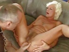 Hot old bitch getting fucked pretty hard
