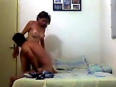 Cheating latina caught on camera