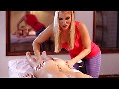 Riley Reid - lesbian massage