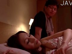 Cute Chick Gets Teased On A Bed