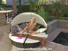 Complete behind the scenes of alessandra noir getting drilled by Alex Legen