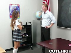Teacher Tired of this Bratty Teen