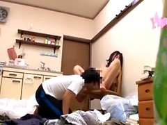 Reality sucking and fucking in amateur home video