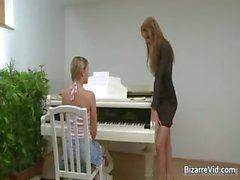 Two smocking hot sexy brunette horny part3