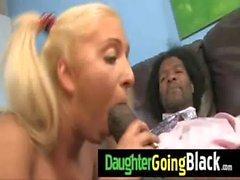 Sexy Teen Daughter Fuck A Huge Black Cock 23