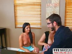 Funny Big Step-Sister India Summer, Julia Ann In Threesome