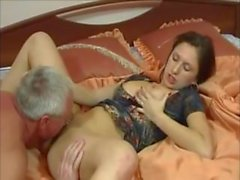 Old Man Fucking His Busty Daughter by Troc