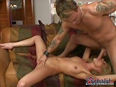 Blonde whore pussy penetrated