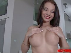 Sexy housewife college blowjob