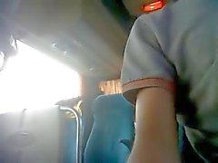 SPY fuck in Bus