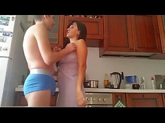 Russian Mature Mom and Boy 1