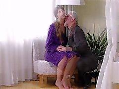 Fröken älskar getting knullade av Old Man
