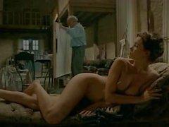 Fransyska naket på a fench filmen