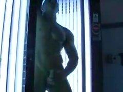 Bronceado muscular caliente