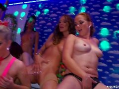 Party with Hot Chicks Peeing 3