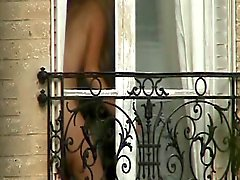 New Neighbor Totally Nude !!