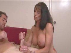 Big Boobs stepmom brings Fun
