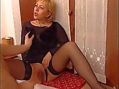 Granny maid porn