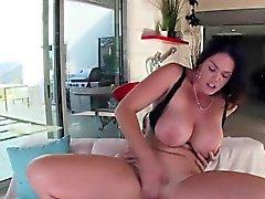 Sexy Skank Alison Tyler Rides Enormous Cock Of Lover