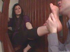 Intense foot worship part 2
