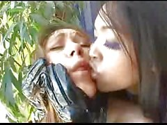 Asian Mistress Dominates White Slave