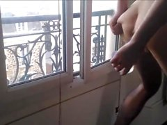window dildo show