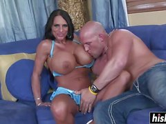 Busty MILF loves his hard cock