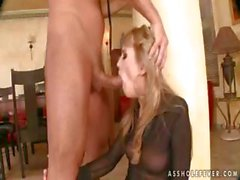 Appetizing chickabee with a rude fanny gets herself sodomized