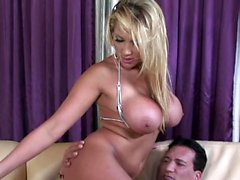 She just loves his hard meat pole