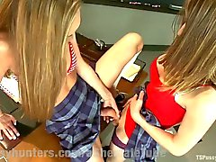 Two Hotties Fuck In Detention