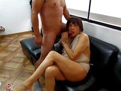 nicole fucking hard with venezuelan lover anal full sex