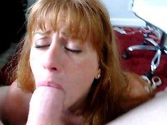 Amateur girlfriend hot deepthroat pov blowjob