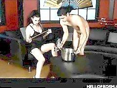Hot BDSM Punishment