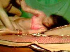 Rashmi aunty sucking Faiz's hard cock