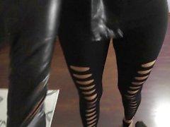 Gloves Black PJ-sexy - Wetlook Handschuhe Wix