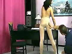 Slut Puts On Pantyhose And Gets Fucked