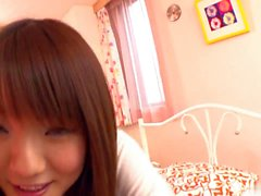 Gorgeous teen moans with pleasure while getting teased with a toy