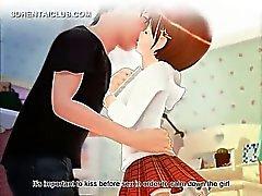 Innocent Anime дорогая показывающая неумирает подглядывание под юбки