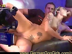 Alicia and Angelina two blonde babes who love to SWALLOW