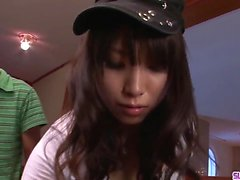 Hinata Tachibana cock sucking extreme in Asian video