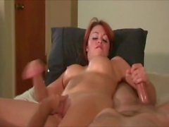 Horny couple Hand Pleasure