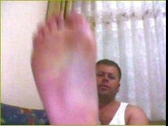 recta pies de hunk de Turquía